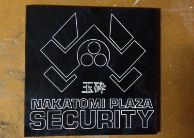 Nakatomi Security signage