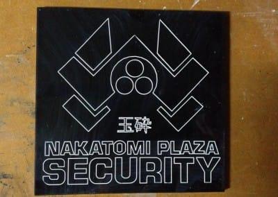 Nakatomi Security signage