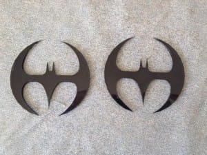 Azrael Batman batarangs