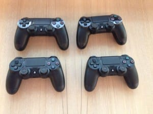 PS4 controllers completed