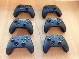 Xbox controllers completed