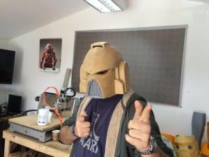 I love being a Warhammer Space Marine!