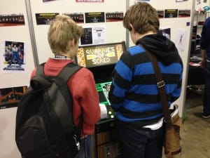 Guys Playing Quarries of Screed