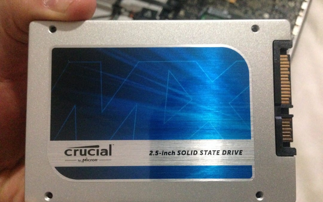 Laptop upgrade – SSD