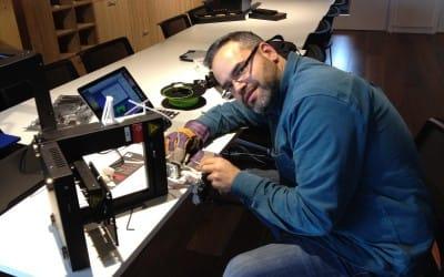 Yori is sick – Maintenance on Up 2 + 3D printer