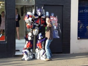 Optimus Prime and the Kosher Tony Stark at Artboy