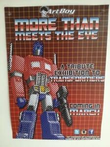 Transformers tribute - Artboy poster