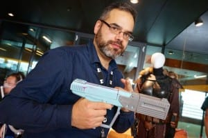 KTS is armed for the next version of Halo. Master Chief watch out. More props from Robe and Blaster