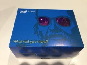 Why is the Dude on the Galileo box?