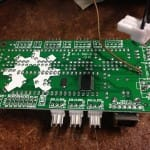 That's the controller board for the 3D printer