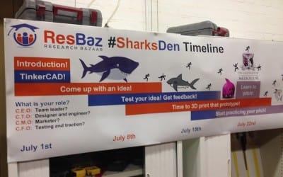 3D Sharks Den at University of Melbourne