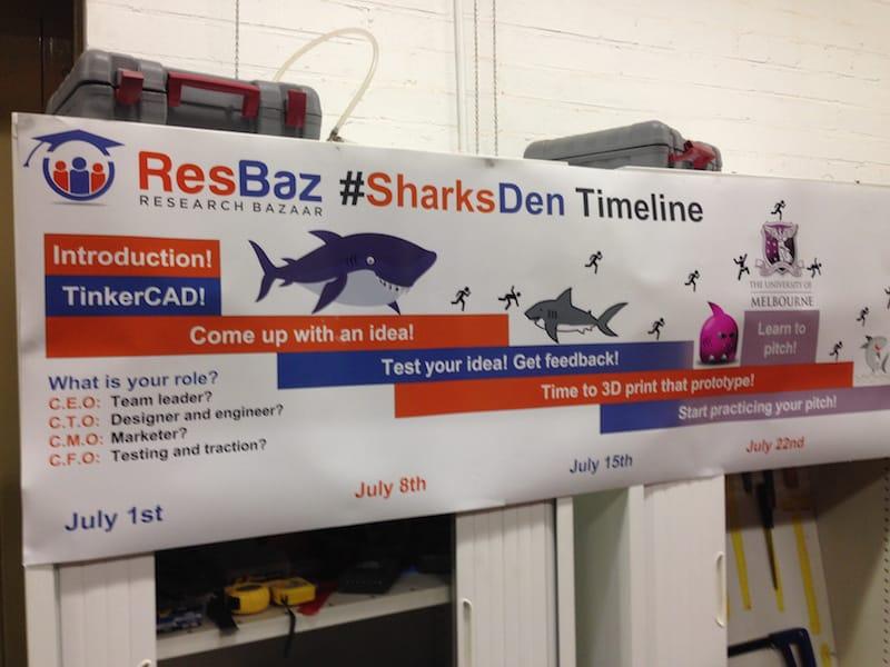 Sharks Den timeline