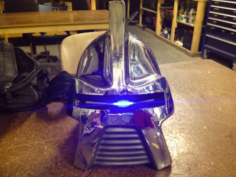 Cylon helmet update – Touching on the design original