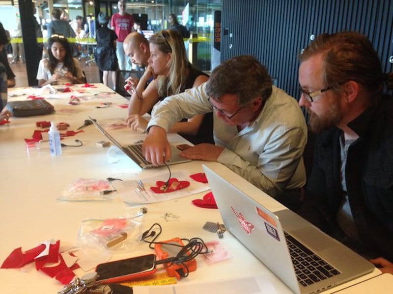 Wearables workshop at Mini Make Day 2