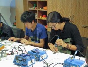 Learn to solder workshop