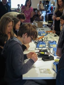Busy sessions as people get hand on experience