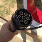 Tesla Charging plug
