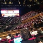 The main room at Edutech 2016
