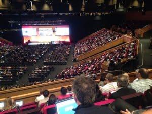 The main room at Edutech 2016