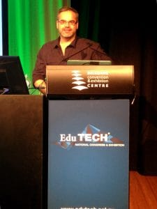 Center stage at Edutech