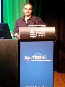 Centre Stage at Edutech 2016