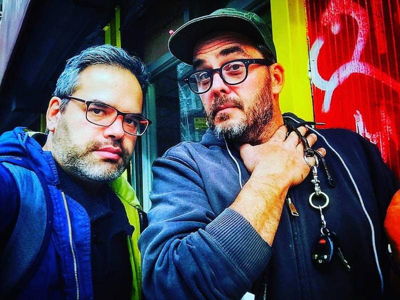 Jimmy DiResta and Gil in New York