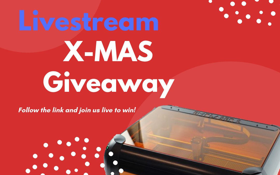 Christmas Giveaway for the last Laser Livestream of 2020!